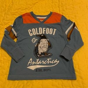 2/$10 Cherokee Boys Size 3T Long-sleeve Shirt